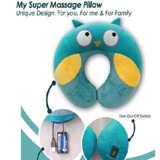 Massager Pillow for Traveler