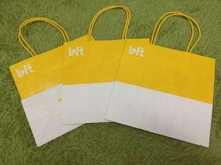 Loft 23x22x12cm paper bag