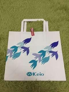 Keio 22x20x10cm paper bag