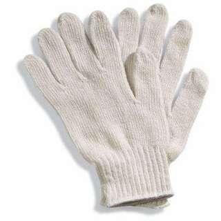 🚚 White knitted gloves
