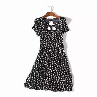 Black Skeleton Dress