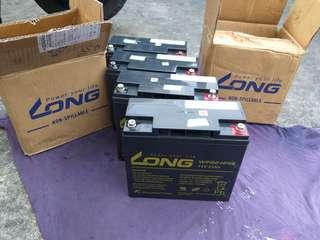 Battery 12V 22Ah (4pcs)