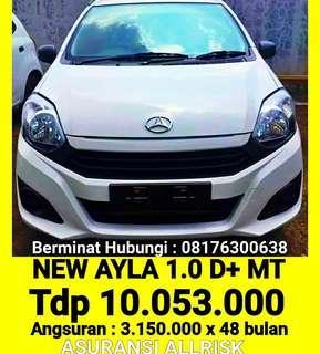 New Ayla 1.0 d+ mt