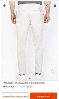 New chino pants celana 17sevenoriginal