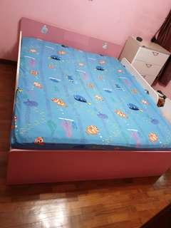 🚚 Bed frame only with raised side