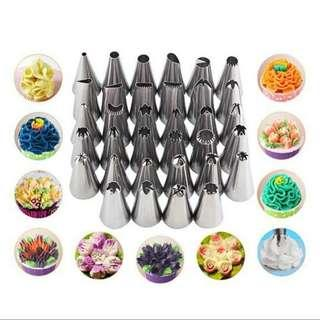 *35 Pieces* Stainless Steel Cake Decoration Piping Tips