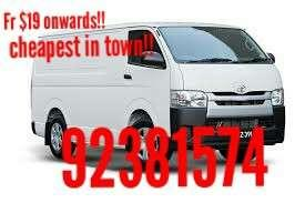 Movers $19 onwards