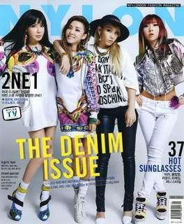 🚚 2NE1 Nylon Korea Magazine