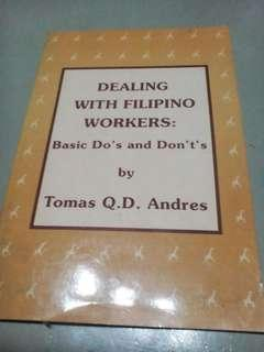 Dealing with Filipino Workers: Basic Do's and Don'ts