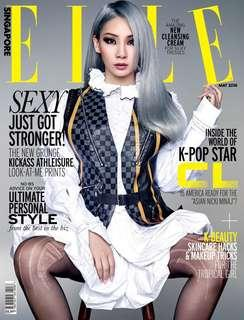 🚚 CL Elle Singapore Magazine
