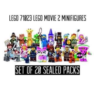 LEGO 71023 Complete Set of 20 Sealed