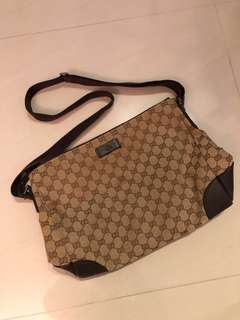 c37c08cec02 NEGOTIABLE  Authentic Gucci Interlocking Shoulder Bag