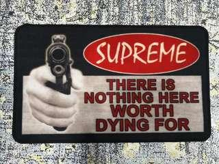 Supreme 17FW Welcome Floor Mat