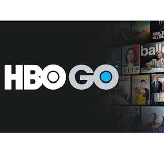 HBO GO 1 MONTH SUBSCRIPTION!