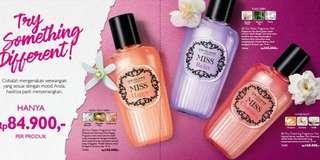 Parfum MISS Happy, Relax & Charming