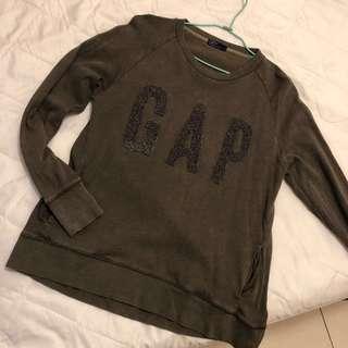 🚚 Gap 刷毛Logo 大學T