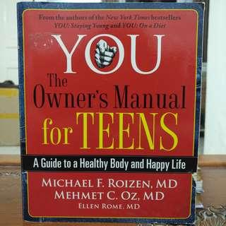 You: The Owner's Manual for Teens #MMAR18