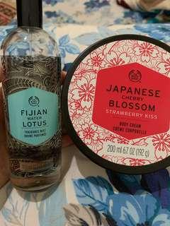 The Body Shop (Body Butter and Perfume) - TAKE ALL