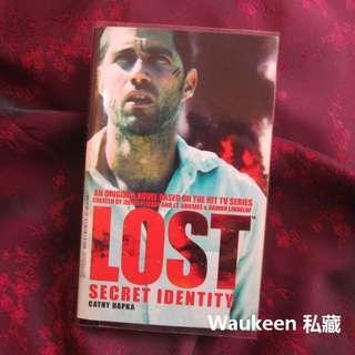 LOST檔案 神秘人 Secret Identity 凱西哈柏卡 Cathy Hapka 懸疑驚悚 電視原著小說