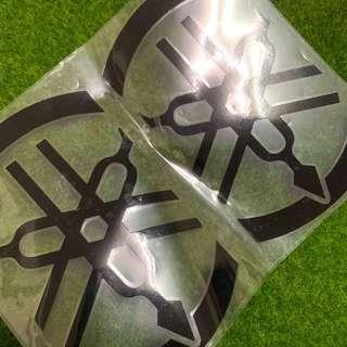 Yamaha防水貼紙logo