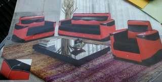 Promosi 1 set sofa 123  P. U