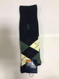 Polo Ralph Lauren socks.   Size 19-21.  Made in Japan