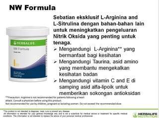 NW Formula Herbalife