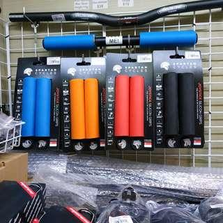 Spartan Cycles Silicone Grips