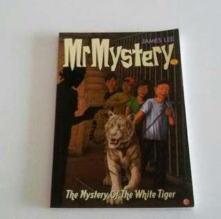 BN Book Mystery of the white Tiger