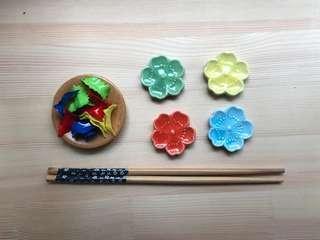 🚚 Montessori Chopstick Set