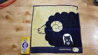 全新 日本方毛巾 24x24cm