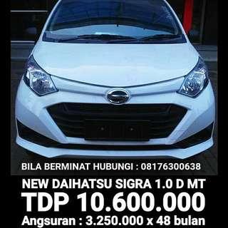 Daihatsu Sigra ( dp 10.600.000 )