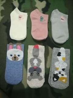 Two pairs Korean Women's Socks