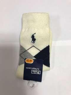 Polo Ralph Lauren socks   Size 20-22. Made in Japan