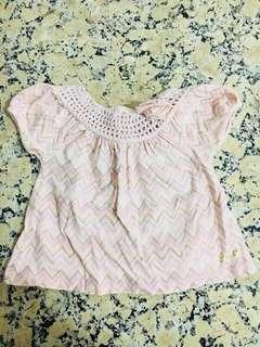 Baby Girl Top 6m Juicy Couture