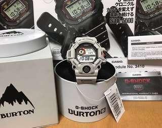 🏂BURTON🏂 Casio G-Shock X Burton GW 9400BTJ-8 (Limited Edition) Triple Sensor Casio G-Shock Rangeman GW9400