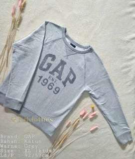 GAP Grey Sweater #maudompet