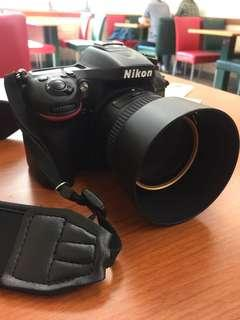 Nikon d7100 + 18-55 mm lens + 50mm f1.8 2 battery