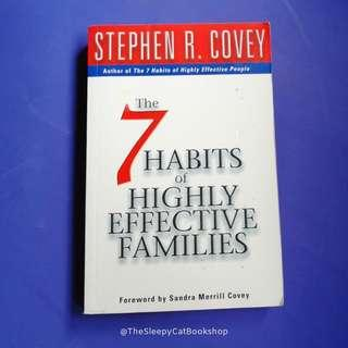 USED BOOK The 7 Habits of Highly Effective Families