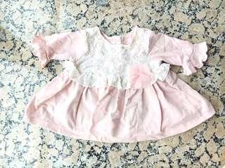 Baby Girl Dress 6m Pippa & Julie