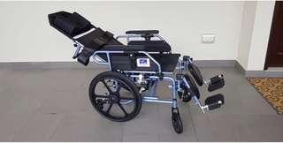 Aluminium Light weight recliner push chair, actual price $733.00
