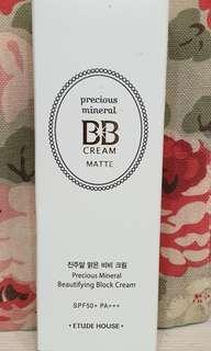 Etude House Precious Mineral BB Cream - Matte