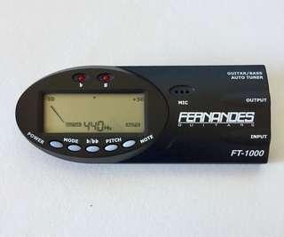 Fernandes Guitar Bass Auto Tuner