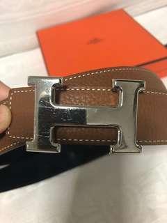 Hermes H Ladies Belt