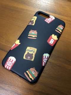 🚚 Mr Brown Line Bear iphone 8 plus case