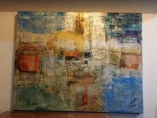 Ivan acuna painting