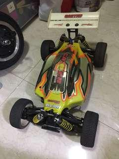1/8 caster racing kit EP buggy