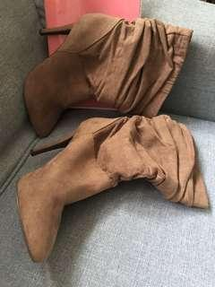 Heels forever21 high boots