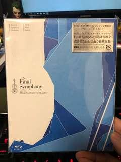 Final Symphony - music from Final Fantasy 6,7,10 [Blu-ray Disc Music] 日版
