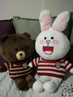 🚚 Cony & Brown Soft Toy